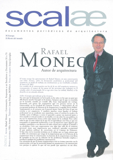 ...self (pliego scalae) Rafael Moneo
