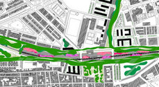 El estudio de Vázquez Consuegra replantea, con el proyecto Río Verde, la estación de ferrocarril de Puerto Real