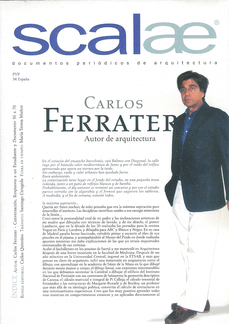 ...self (pliego scalae) Carlos Ferrater