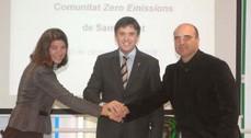El IAAC estudiará el desarrollo de una comunidad residencial con el objetivo de cero emisiones de CO2 en Sant Cugat