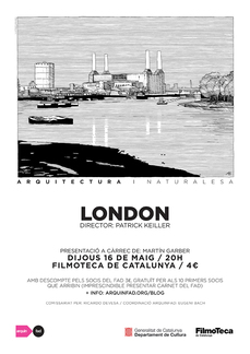 "FILMOTECA CAT: ""London"" de Patrick Keiller"