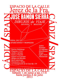 José Ramón Sierra: Dibujos de viaje