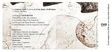 La Rocchi: Diálogo CHOWROOM en la Galería OAB