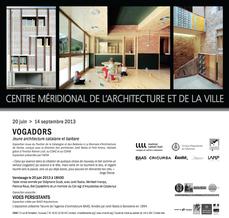 VOGADORS al Centre Méridional de l'Architecture et de la Ville, Toulouse