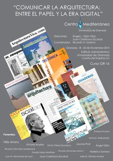 Comunicar la Arquitectura, en Granada