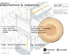 Arquitectura e Industria... seminario de la Fundación Arquitectura y Sociedad, en Madrid