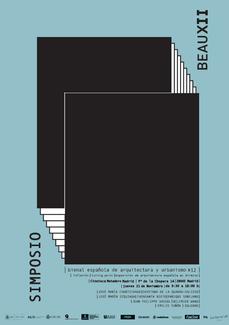 Simposio de la XII Bienal Española de Arquitectura y Urbanismo, en Madrid
