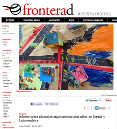 Informe sobre educación arquitectónica para niños en España y Latinoamérica