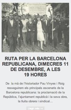 """La máquina del tiempo: las """"rutes per la història"""" de TotHistòria"""
