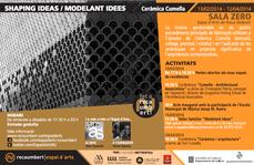 """Exposición y actividades """"Shaping ideas · Modelant idees"""" de Cumella"""