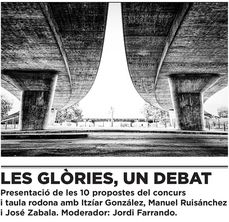 Las Glorias a debate, en el dHub de las Glorias BCN