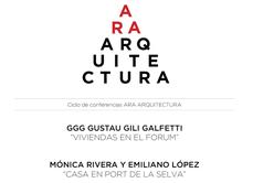 GGG y RIVERA-LÓPEZ en ARA ARQUITECTURA. BCN
