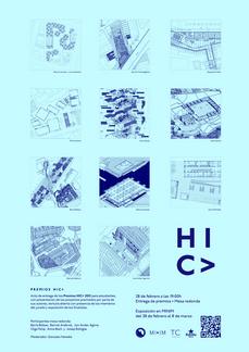 Entrega de los premios HIC> 2013, a los mejores proyectos académicos de arquitectura.