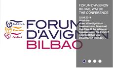 La Alhóndiga y el fórum d'Avignon, en Bilbao