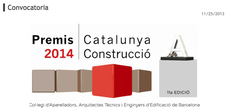 Convocatoria abierta de los premios Catalunya Construcción 2014