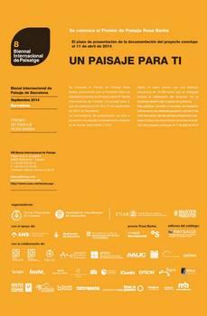 Deadline para Premio Europeo de Paisaje Rosa Barba: 11MAR