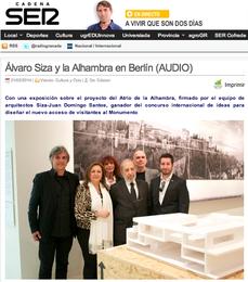 Visiones de la Alhambra, en Berlín