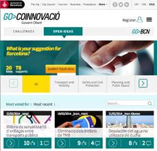 GO>BCN, plataforma de innovación conjunta y participación on-line