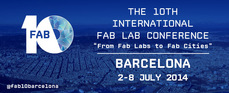 From FAB LABs to FAB CITIES, BCN 2-8JULY, register!...