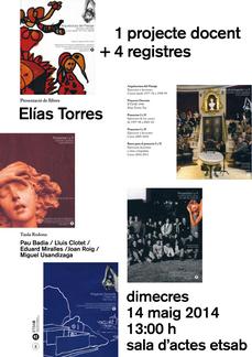 el proyecto docente de Elías Torres...