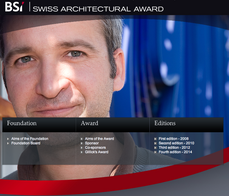 José Maria Sánchez García (Spain) wins BSI Swiss Architectural Award.