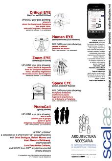 ...Fila 1 y herramientas de participación para el Congreso Internacional de Arquitectura y Sociedad