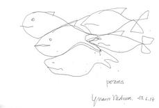 Pezes (en formación de teselas), por Ignacio García Pedrosa