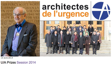 arquitectos sin fronteras & fondation architectes de l'urgence : UIA vassilis sgoutas prize 2014