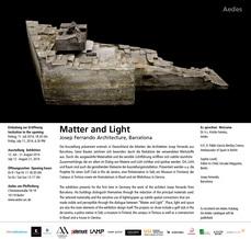 Exposición de Josep Ferrando en Berlín, Galería aedes