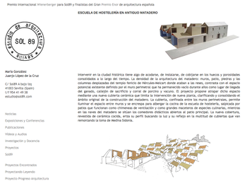2014 European Prize of Architecture Philippe Rotthier: Sol89, Bruno Rollet, Pascal Flammer & FAREstudio