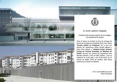 Invitación al acto de entrega, en Madrid, de Premio de Arquitectura Española 2013