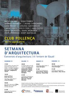 Converses d'arquitectura / A l'entorn de Gaudí en Pollença, Mallorca