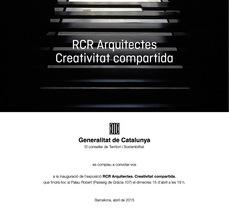 """RCR arquitectes, antológica """"Creativitat Compartida"""" en el Palau Robert de Barcelona"""