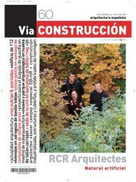 Vía Construcción nº 60: RCR arquitectes: Natural artificial