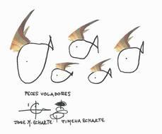 Peces Voladores, con juego incorporado.... por José María Echarte y Jimena Echarte
