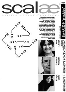 ...debate Sejima + Mangado + Lacaton BIA-AR Principios (podcast y ebook ESP disponibles)