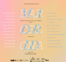 Principios Excelentes PFC 2017 · Proyectos para un final de carrera en Arquitectura · UPMadrid · UPCatalunya sec. Barcelona