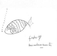 """""""corazón fish"""", por Ariadna Cantis"""