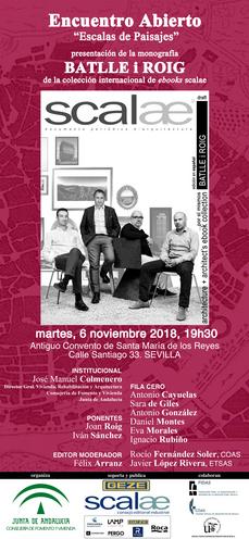 ...cita en Sevilla: ebook scalae Batlle i Roig Arquitectura