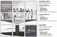 BCN +MAD >Seminario fAyS: Arquitectura e Industria · Profesión y Oficio