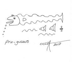 Peix-gusano, por Jaime de Oleza