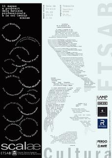 "...cita en Barcelona: exposición ""11 mapas a propósito de matices profesionales..."" en la ETSABarcelona UPC"