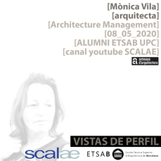 """Vistas de Perfil"", Mònica Vila, Architecture Management"