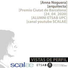 """Vistas de Perfil"", la serie. Anna Noguera, episodio piloto"