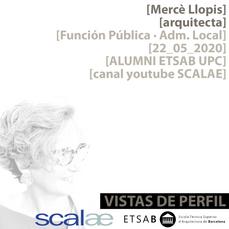 """Vistas de Perfil"", Mercè Llopis, Función Pública en Administración Local"