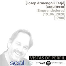 """Vistas de Perfil"", Josep Armengol, Emprendedores"