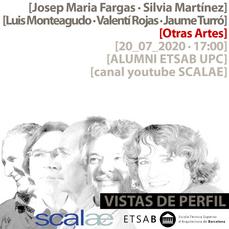 """Vistas de Perfil"", Fargas, Martínez Palou, Monteagudo, Rojas, Turró, Otras Artes"
