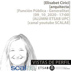 """""""Vistas de Perfil"""", Elisabet Cirici, Función Pública · Generalitat de Catalunya"""