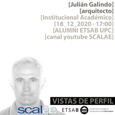 """Vistas de Perfil"", Julián Galindo, Institucional Académico"