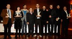 Patxi Mangado recibe el premio ASCER